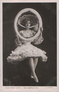 "Gabrielle Ray as ""Thisbe"" in ""The Orchid"" 1903  (Philco 3397 E)"