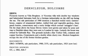 Derncleugh Holcombe