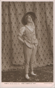 "Gabrielle Ray as ""So-Hie"" in ""See See"" 1906 (Rotary 4038 U)"