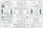 Sinbad the Sailor – Programme – 12th January 1900b