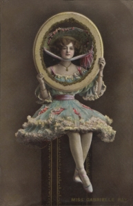 "Gabrielle Ray as ""Thisbe"" in ""The Orchid"" 1903  (Philco 2258 B)"
