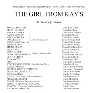 The Girl from Kay's