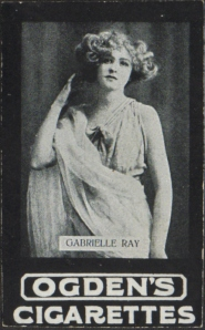 Gabrielle Ray - Ogden's Cigarette Card