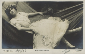 "Gabrielle Ray as ""Susan"" in ""Lady Madcap"" 1905  ( J. Beagles 729 O)"