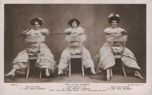 """Gabrielle Ray as """"Lady Dorothy Congress"""" in """"The Little Cherub"""" 1906 (Rotary 3261 E)"""