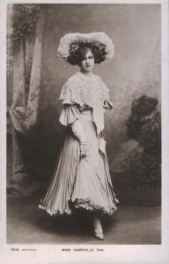 "Gabrielle Ray as ""Thisbe"" in ""The Orchid"" 1903 (Davidson Bros. 1305)"