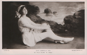 """Gabrielle Ray as """"Polly Polino"""" in 'Peggy' 1911 (Rotary 11779 B)"""