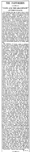 Jack and the Beanstalk - The Manchester Guardian - 28th December 1920