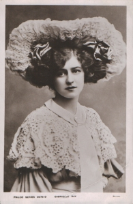"""Gabrielle Ray as """"Thisbe"""" in """"The Orchid"""" 1903 (Philco 3076 D)"""
