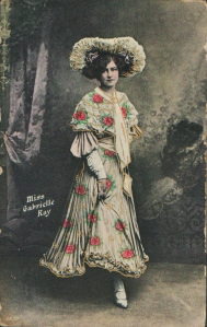 "Gabrielle Ray as ""Thisbe"" in ""The Orchid"" 1903 (Rapid 1857)"