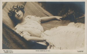 "Gabrielle Ray as ""Susan"" in ""Lady Madcap"" 1905 (J. Beagles 729 N)"