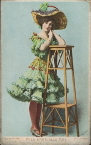 "Gabrielle Ray as ""Thisbe"" in ""The Orchid"" 1903 (J. Beagles 77 W)"