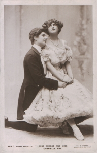 "Gabrielle Ray as ""Susan"" in ""Lady Madcap"" 1905 (Rotary 483 D)"