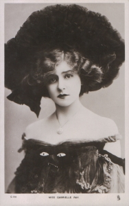 """Gabrielle Ray as """"Thisbe"""" in """"The Orchid"""" 1903 (Tuck G 811)"""