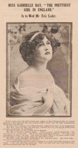 Gabrielle Ray - The Evening Telegraph and Post - 10th January 1912