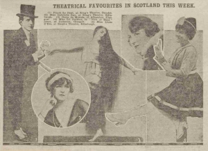 The King's Theatre, Edinburgh - The Sunday Post - 8th August 1920