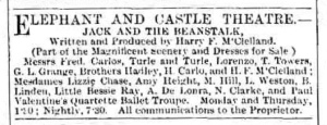 Bessie Ray - Jack and the Beanstalk - The Era - Saturday 30th December 1893