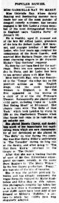 Gabrielle Ray - West Gippsland Gazette - 30 April 1912