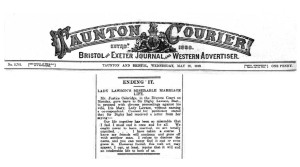 Lady Iris Lawson - Taunton Courier, and Western Advertiser - Wednesday 28 May 1919