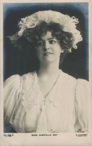 "Gabrielle Ray as ""Susan"" in ""Lady Madcap"" 1905  (J. Beagles 665 P)"