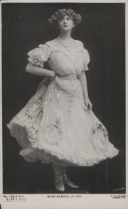 """Gabrielle Ray as """"Susan"""" in """"Lady Madcap"""" 1905 (J. Beagles G 729 F)"""