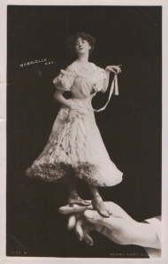 "Gabrielle Ray as ""Susan"" in ""Lady Madcap"" 1905 (Rotary 3996 H) 1907"