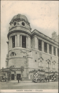 The Gaiety Theatre - (Empire Series No 40) - 1904
