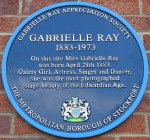 Gabrielle Ray – BluePlaque