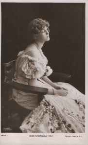 "Gabrielle Ray as ""Susan"" in ""Lady Madcap"" 1905 (Rotary 1905 L)"