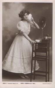 """Gabrielle Ray as """"Lady Dorothy Congress"""" in """"The Little Cherub"""" 1906 (Rotary 4024 V)"""