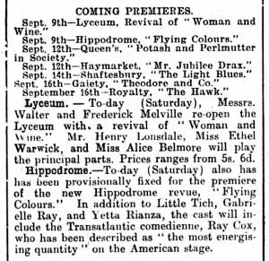 Flying Colours - Gloucester Citizen - Saturday 09 September 1916