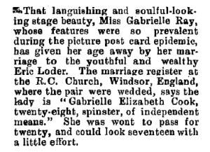 The Observer (New Zealand) Saturday 25th May 1912