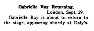 Betty - Variety October 1915