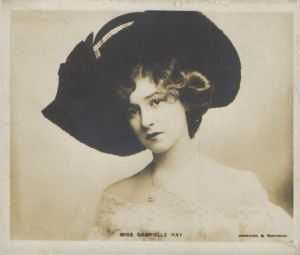 Gabrielle Ray (Davidson Bros. - Midget Post Card) 1904