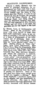Salon of Fragrance and Fair Women - The Evening Post - 10th May 1911
