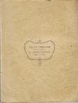 The Dollar Princess – Souvenir Programme – 1909 – BackCover
