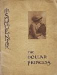 The Dollar Princess – Souvenir Programme – 1909 – FrontCover