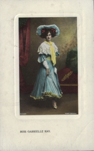 "Gabrielle Ray as ""Thisbe"" in ""The Orchid"" 1903 (H.V & Co 5977 - 6)"