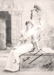 """A signed photograph given to """"Sammy"""" Roy Sambourne,1907"""