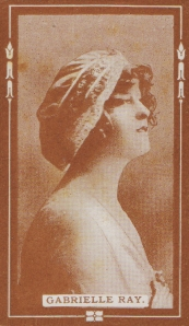 Gabrielle Ray - Cigarette Card