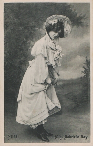 "Gabrielle Ray as ""Thisbe"" in ""The Orchid"" 1903 (Ray & Co 62)"