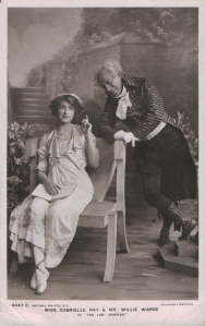 "Gabrielle Ray as ""Egle"" in ""The Lady Dandies"" 1907 (Rotary 4447 C)"