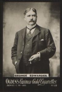George Edwards - Ogden's Guinea Gold Cigarettes, No 119