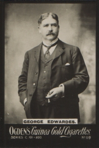 George Edwards - Ogden's Guinea Gold Cigarettes, No 119