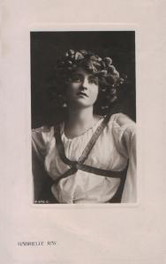 Gabrielle Ray (Rotary P 370 C) 1908