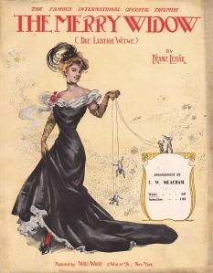 The Merry Widow - Sheet Music - 1907
