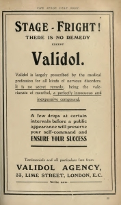 Viladol The Stage Year Book - 1910