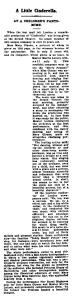 The Little Cinderella - The World's News (Sydney, NSW) - Saturday 19 February 1910