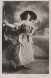 Gabrielle Ray (Rotary 11420 Z) 1909