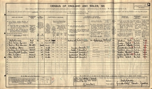 Iris Mary Lawson - Census 1911